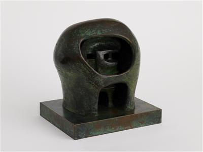 Helmet Head No.3, 1960 By Henry Moore