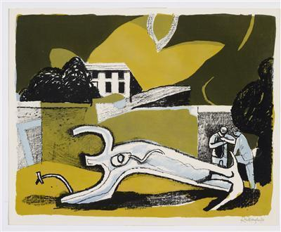 Walled Garden, 1951 By Keith Vaughan