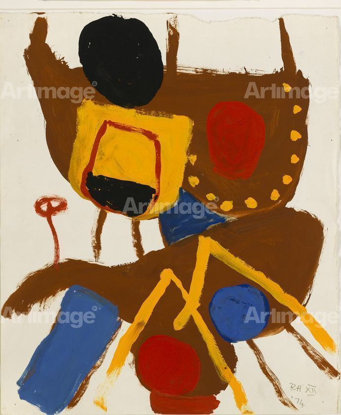 Untitled Gouache 1974, 1974