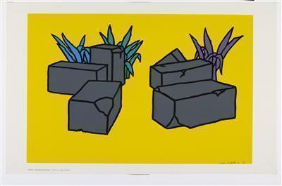 Ruins, 1964 By Patrick Caulfield