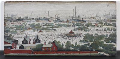 The Park, 1946 By LS Lowry