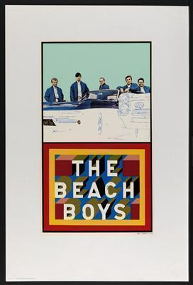 Beach Boys, 1964 By Peter Blake