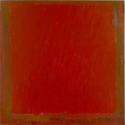 Red Over Yellow, 18.9.73, 1973 By John Hoyland