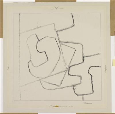 Linear Motif, 1950 By Victor Pasmore