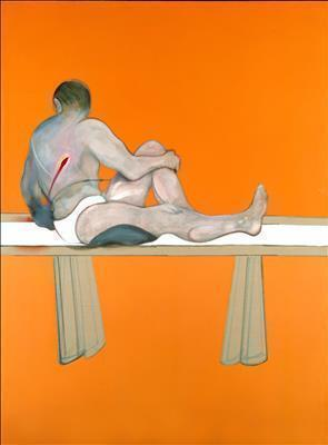 Triptych-Studies of the Human Body, 1979 (left panel)