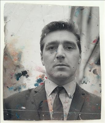 Portrait of George Dyer, c. 1964