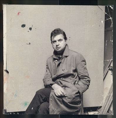 Francis Bacon in Raincoat, c. 1967