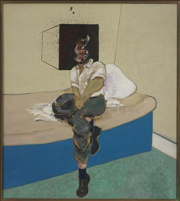 Study for Self-Portrait, 1964 By Francis Bacon