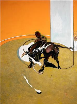Second Version of Study for Bullfight Nº 1, 1969