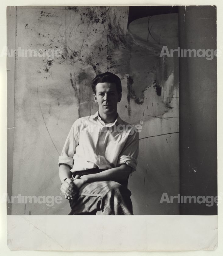 Enlarged version of Michael Andrews, c. 1955
