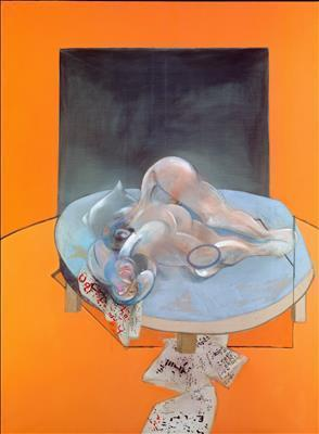Triptych-Studies of the Human Body, 1979 (centre panel)