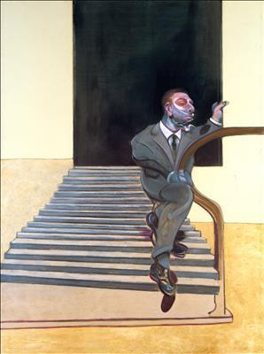 Portrait of a Man Walking Down Steps, 1972 By Francis Bacon