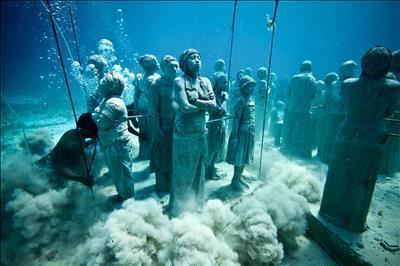 The Silent Evolution, 2010  By Jason deCaires Taylor