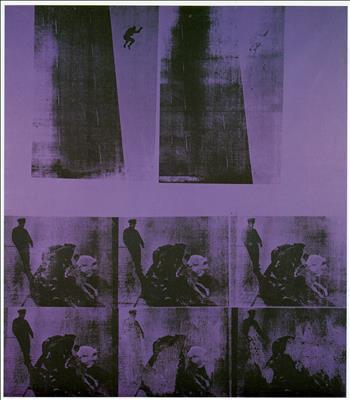 Suicide (Purple Jumping Man), 1963