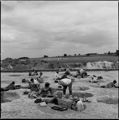Segsbury Camp Excavations, 1996
