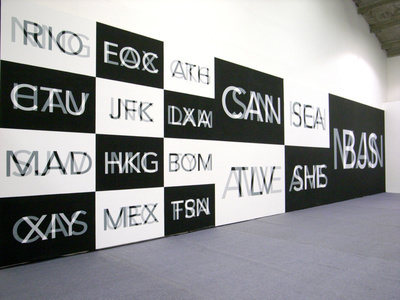 China, Language of Places, 2009 (installation view, English ...