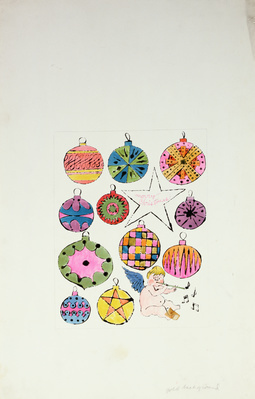 Fairy and Christmas Ornaments, c. 1953-55