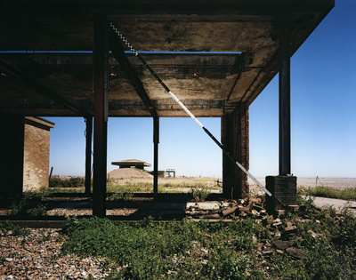 H-Bomb Test Facility, Lab 5, Orford Ness, Suffolk, 2013. Bli...