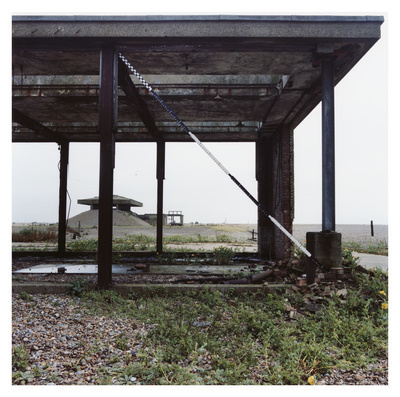 Ext Lab Five, Orford Ness, Suffolk, 2012. Blind Landing (Gre...