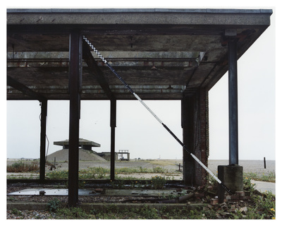 Lab 5, Orford Ness, Suffolk, 2013. Blind Landing series.