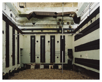 H-Bomb Test Chamber, Lab 4,  Orford Ness, Suffolk, 2012. Bli...