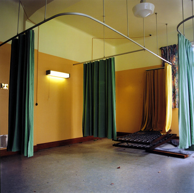 Rutherford Hospital Ward I, 2004. Erewhon series. By Jane and Louise Wilson