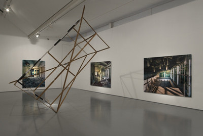 Installation view, Dundee Contemporary Arts, Dundee, 2012