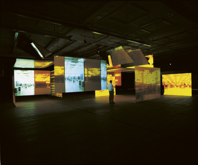A Free and Anonymous Monument, 2003 (installation view) By Jane and Louise Wilson