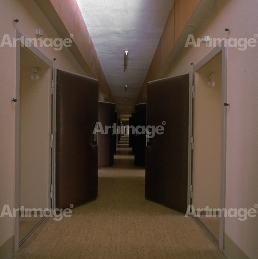 Interview Corridor, 1997. Stasi City series.