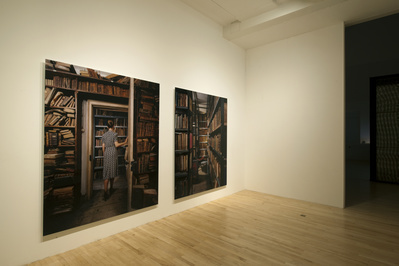 Unfolding the Aryan Papers, 2009 (installation view, Talbot ...