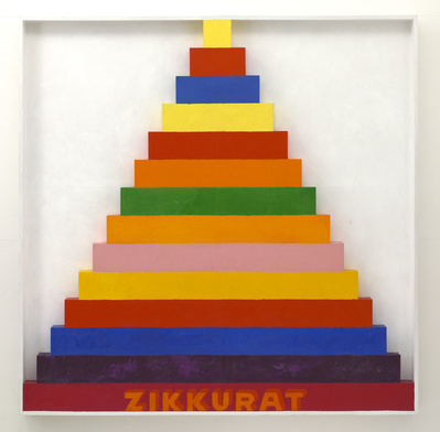 Zikkurat 9, 1967 By Joe Tilson